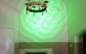 Ceiling laser